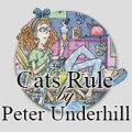 Cats Rule by Peter Underhill
