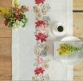 Emb Autumn Flower Runner Kit 40cm x 150cm