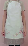 Emb Cherry Blossoms Apron Kit 70cm x 85cm
