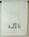 Emb Winter Forest Runner Kit 40cm x 100cm