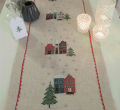 Xst Xmas Houses Runner Kit 40cm x 150cm