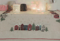 Xst Xmas Houses Cloth Kit 90cm x 90cm