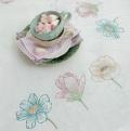 Xst Floral Trio Cloth Kit 90cm x 90cm
