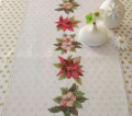Xst Poinsettia Wreath Runner Kit 40cm x 150cm