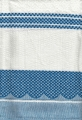 100% Cotton Tea Towel - Royal Blue Check