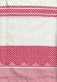 100% Cotton Tea Towel - Red Check