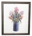 Iris in vase Chart