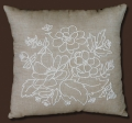 Floral Candlewick Pillow Kit