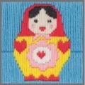 Anchor 1st Long Stitch Kit - Maria (Babushka)