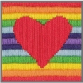 Anchor 1st Long Stitch Kit - Rae (Heart)
