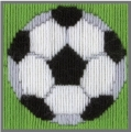 Anchor 1st Long Stitch Kit - David (Soccer Ball)