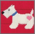 Anchor 1st Long Stitch Kit - Joe (Dog)