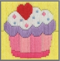 Anchor 1st Long Stitch Kit - Callie (Cupcake)
