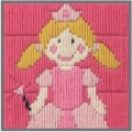 Anchor 1st Long Stitch Kit - Princess