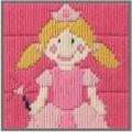 Anchor 1st Long Stitch Kit - Princess