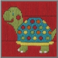 Anchor 1st Long Stitch Kit - Turtle