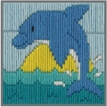 Anchor 1st Long Stitch Kit - Dolphin