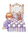 Bedtime Prayer Boy Sampler