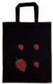 Black Strawberry Bag