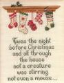 Christmas Stockings Chart and