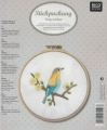Emb Bird (Yellow) Picture Kit with emb hoop 15.5cm