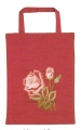 Emb Rose Bag