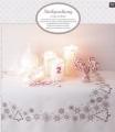 Emb Xmas Snowflake Cloth Kit 90cm x 90cm