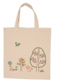Embroidered Forest & Meadow Calico Bag Kit