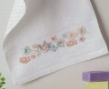 Emb Flower Meadow Guest Towel Kit - 30cm x 50cm