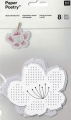 Flower Shaped Boards to Embroider - 8 Pieces