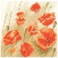 Mini Wild Poppies Chart