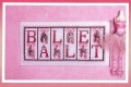 Ballet Chart & Charms