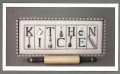 Kitchen Chart & Charms
