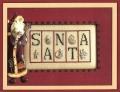 Santa Chart & Charms