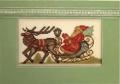 Vintage Santa  Chart & Charms