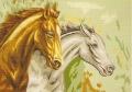 Horses 60x80cm