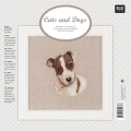 Jack Russell Counted cross stitch