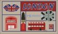 London Icons Cross stitch chart