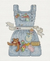Mothers Apron Chart and Charm