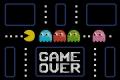 Pac Man Cross stitch chart