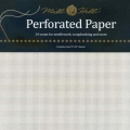 """Perforated Paper 14 count White - Pack of two 9""""x12"""" sheets"""