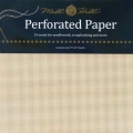 "Perforated Paper 14 count Ecru - Pack of two 9""x12"" sheets"