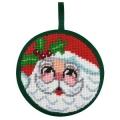 Santa Face Ornament Kit