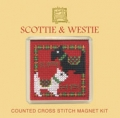 Scottie and Westie Magnet Kit