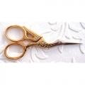 Stork Scissors - Gold