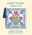 Delft Tulips Needle Case Kit