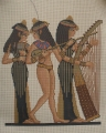Three Egyptian Musicians 40/50