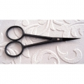 Waste Knot / Decoupage Scissors Black