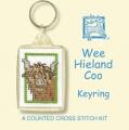 Wee Hieland Coo Keyring Kit