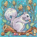 Woodland Creatures - Grey Squirrel Chart